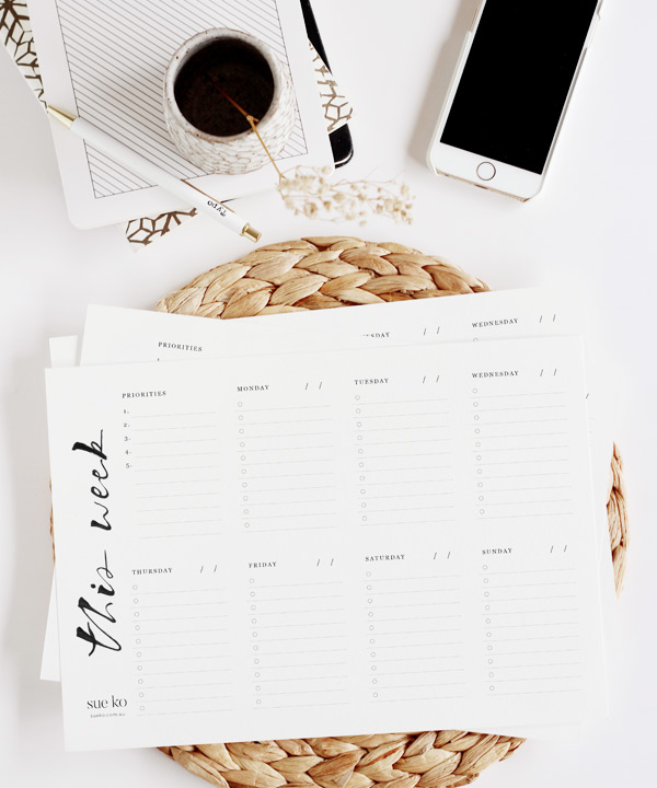 A4-weekly-planner