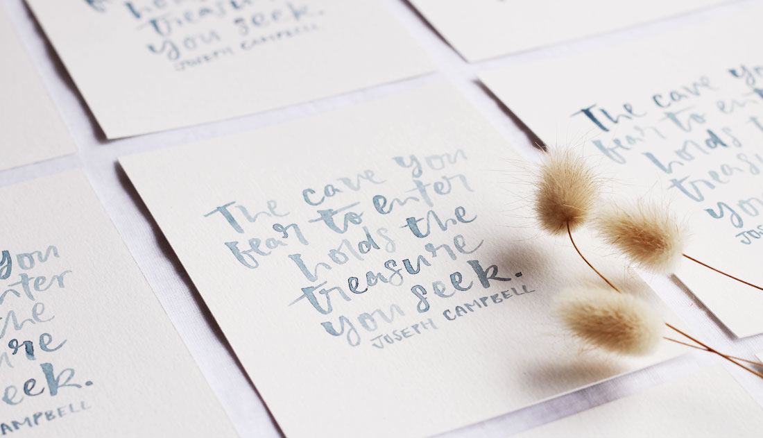 watercolour prints with bunny tails